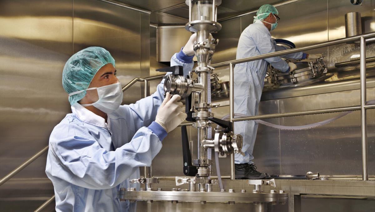 Fábrica de hemoderivados de Grifols.