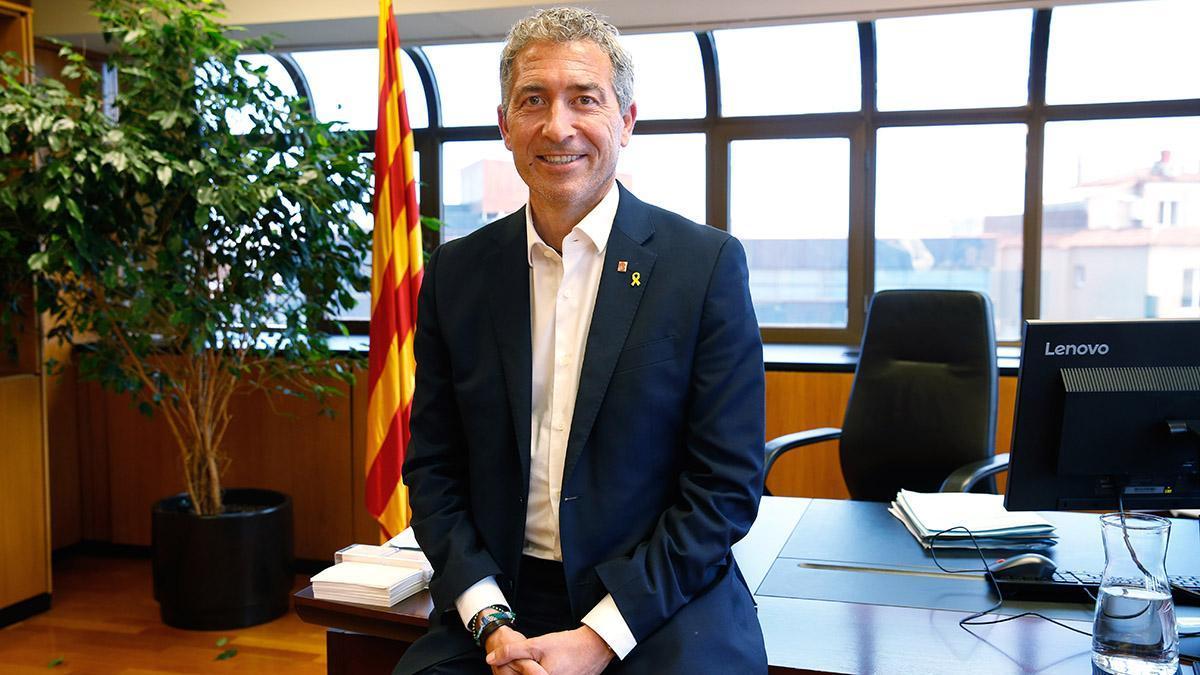 El conseller d'Educació, Josep González-Cambray