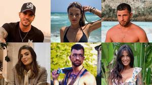 De izquierda a derecha y de arriba abajo, Álex Bueno, Marta Peñate, Tom Brusse, Susana Molina, Rubén Sánchez y Fiama Rodríguez.