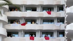Megabrot de Mallorca: així es van escapar de l'hotel Bellver dos joves que no volien fer quarantena per Covid
