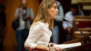 17/10/2019 Jéssica Albiach (CatECP) interviene en el Parlament de Catalunya