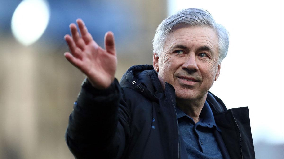 Carlo Ancelotti vuelve al Real Madrid.
