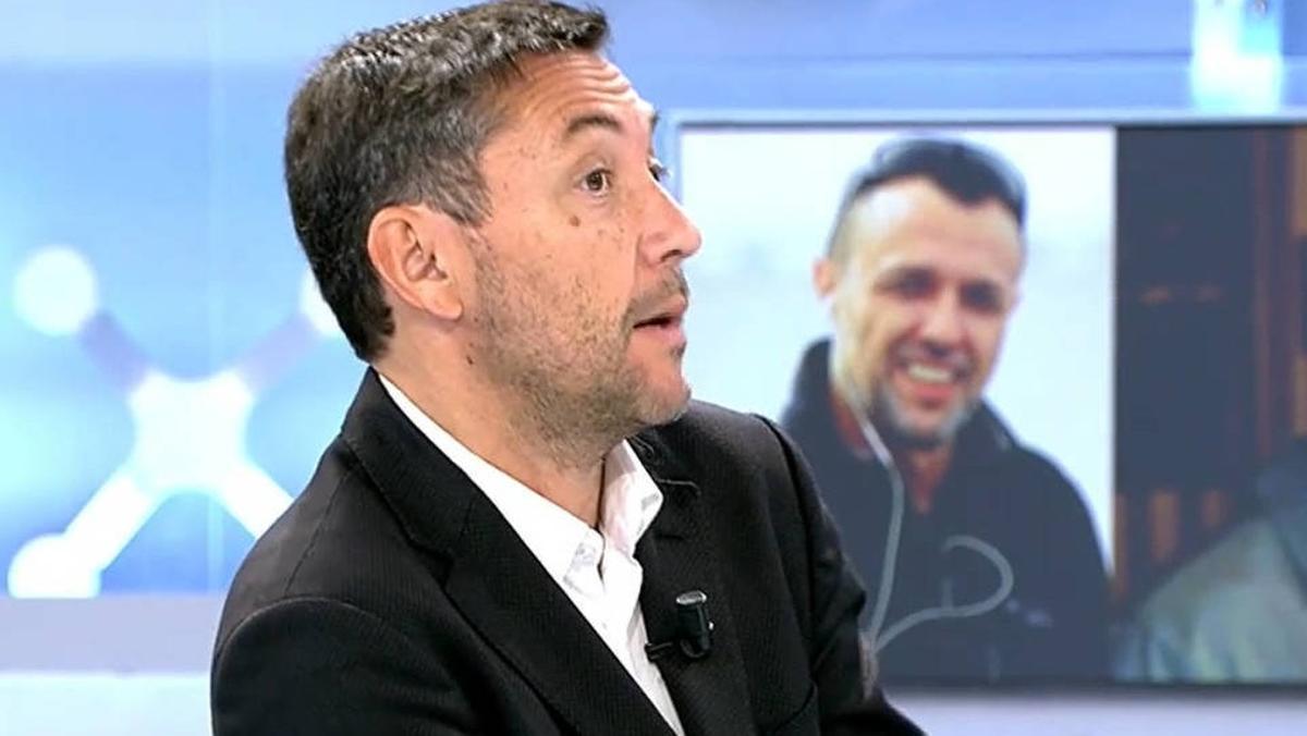 Javier Ruiz en 'El programa de Ana Rosa'
