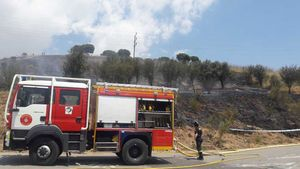 Un altre incendi a Collserola