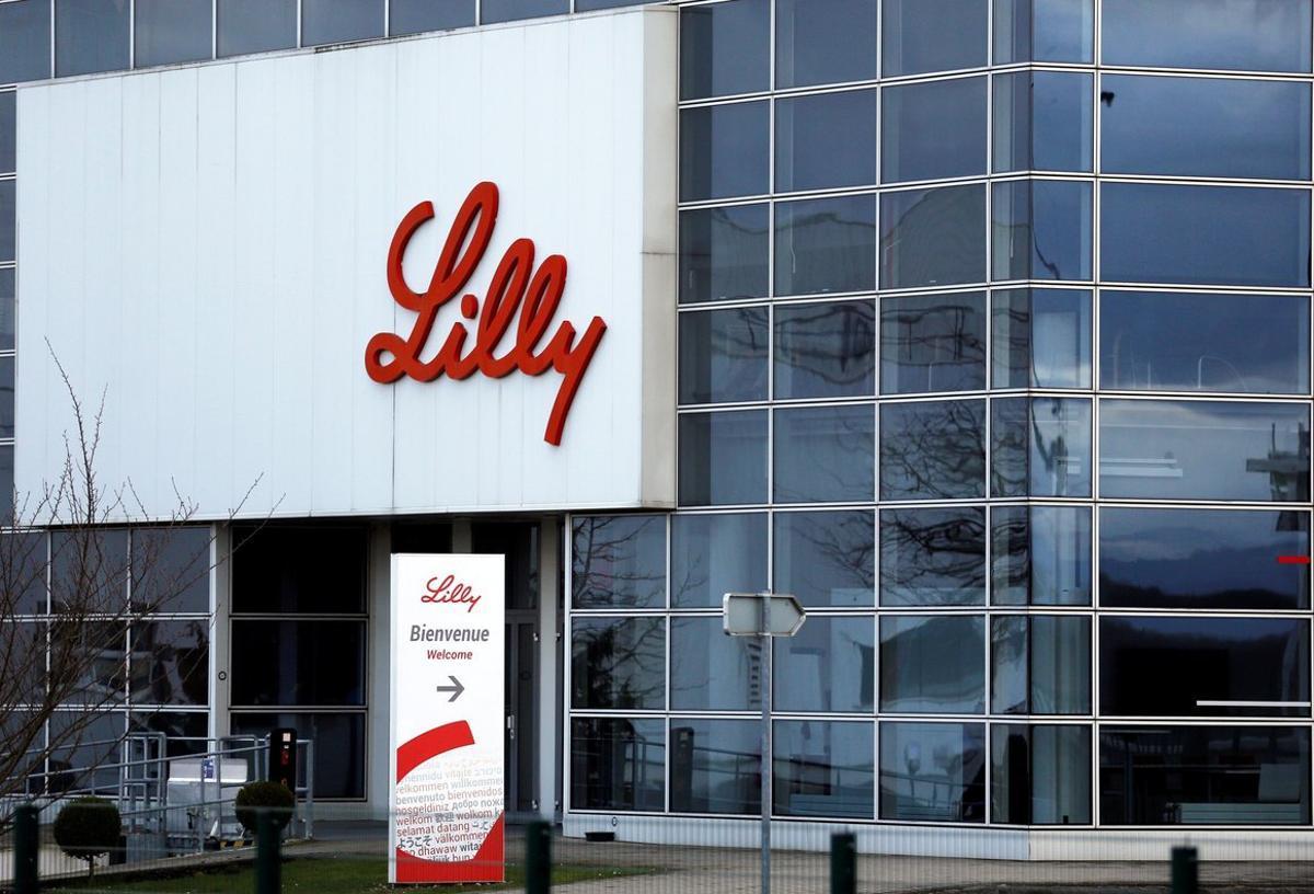 Planta de producción de la farmacéutica Eli Lilly en Francia.