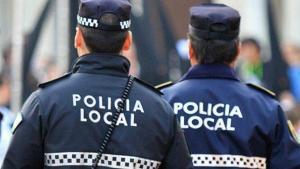 Agentes de la Policía Local de Córdoba.