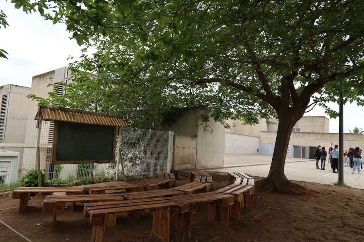 Aula al aire libre del proyecto Green Calamot