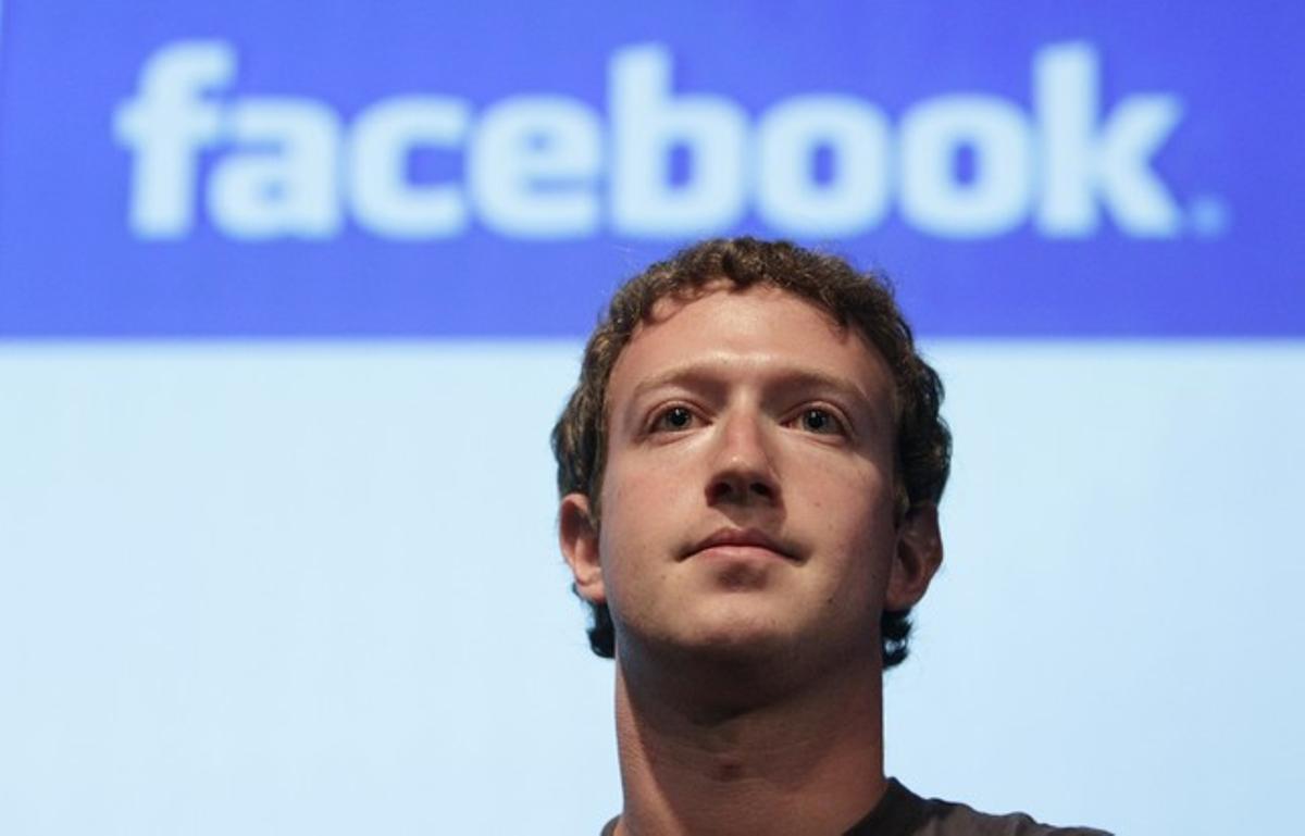 El fundador de Facebook, Mark Zuckerberg, en una conferencia en Mountain View (EEUU), el día 13.