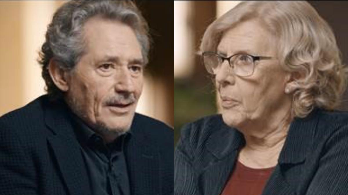 Miguel Ríos y Manuela Carmena en 'Salvados'.