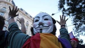 Una decena de manifestantes del 'Rodea al Congreso' se enfrentan a seis años de cárcel