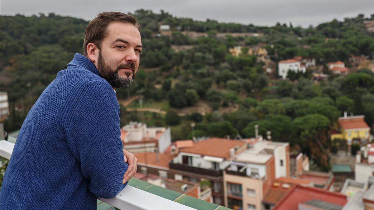 Hector Ruiz Martín, en Barcelona.