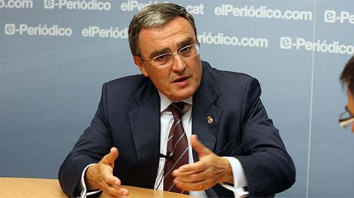 El alcalde de Lleida pugnará por ser elegido primer secretario del PSC en el próximo congreso