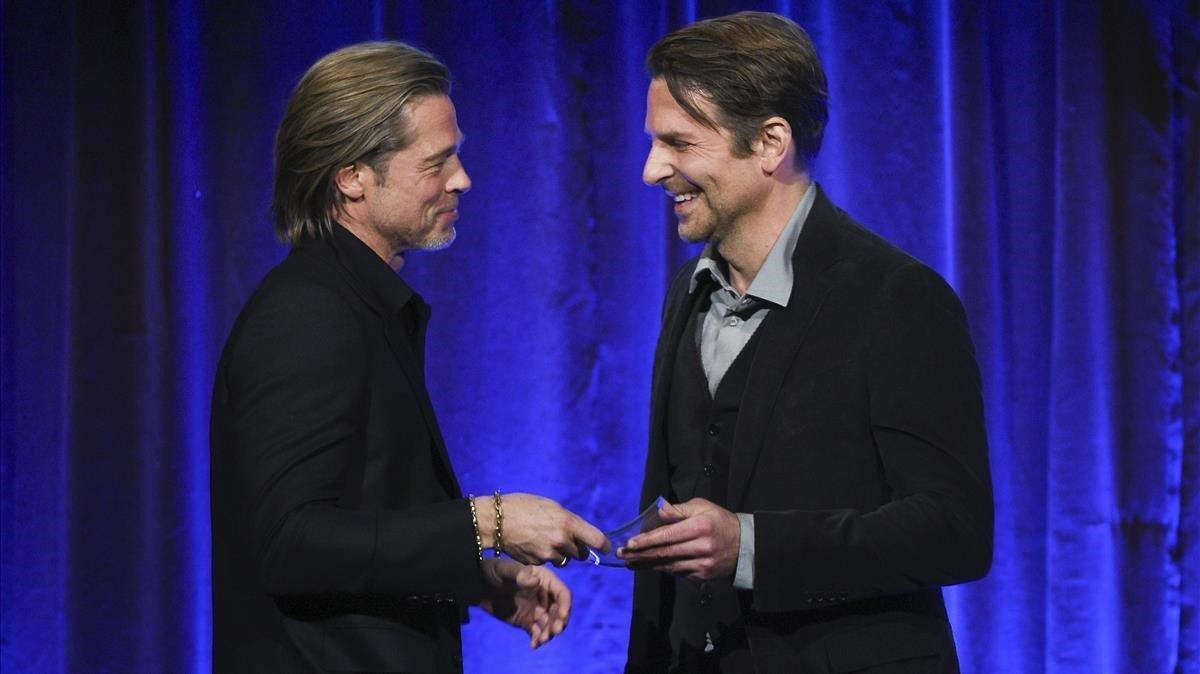 Brad Pitt: «Vaig treballar per estar sobri gràcies a aquest paio [Bradley Cooper]