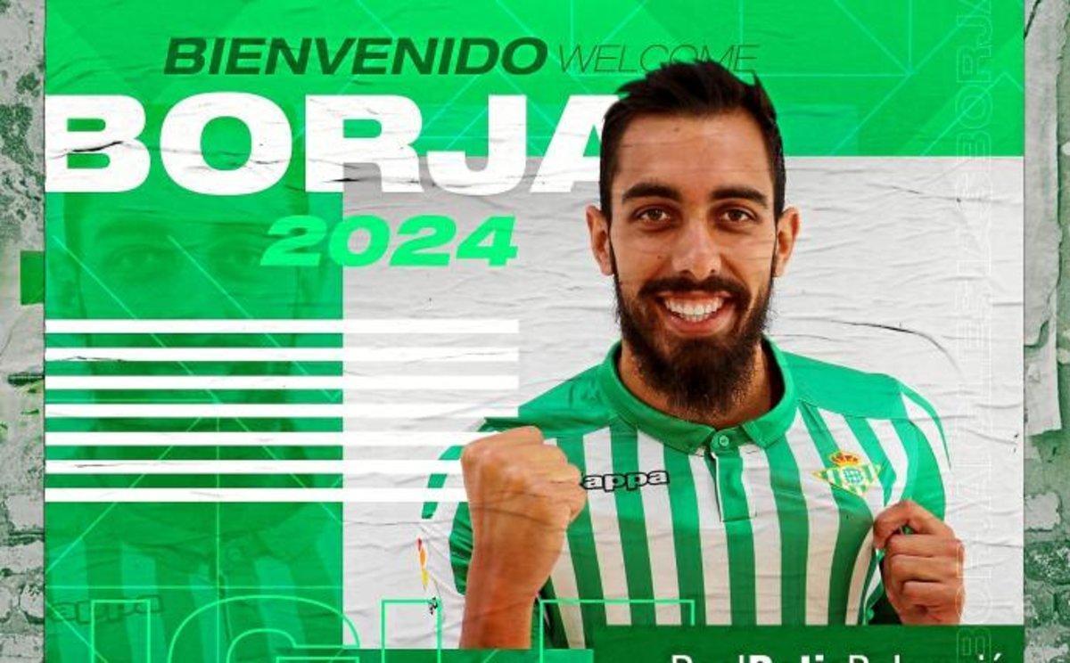 Borja Iglesias, nuevo jugador del Betis.