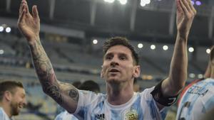 El triomf de Messi, el triomf de tots