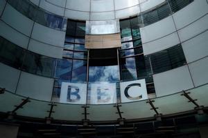 La sede de la BBC en Londres.