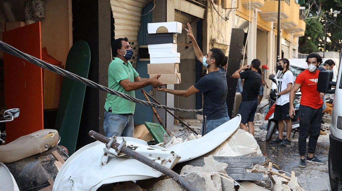 La tragèdia fueteja el Líban