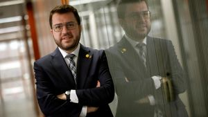 El vicepresidente del Govern en funciones, Pere Aragonès.