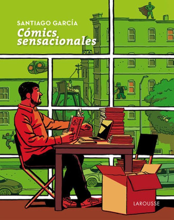 Portada de Paco Roca para 'Cómics Sensacionales', de Santiago García.