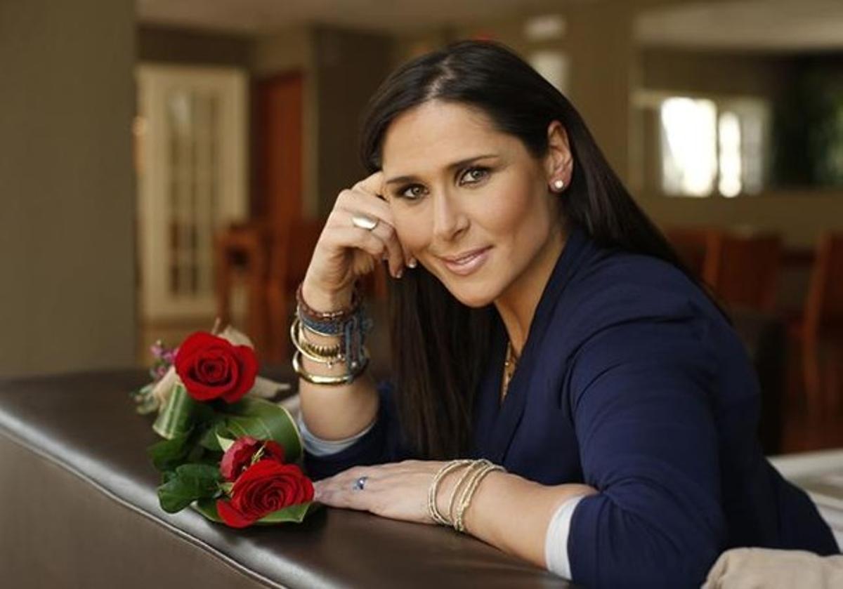 La cantante Rosa López.