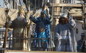 Llegada de los Reyes Magos de Oriente a Barcelona, el 5 de enero del 2019.