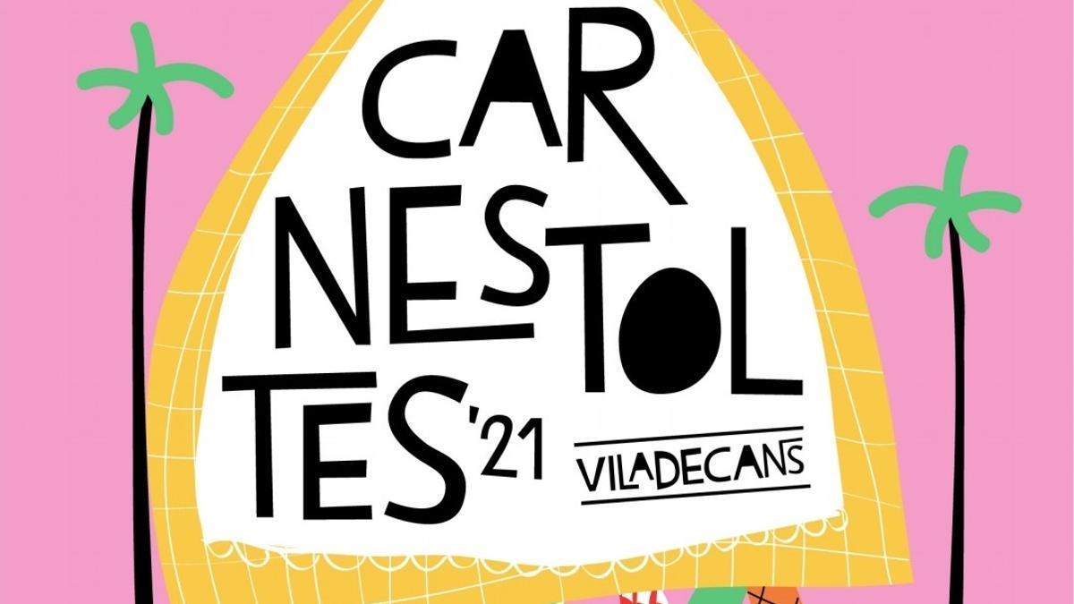 Cartel del Carnaval de Viladecans 2021.
