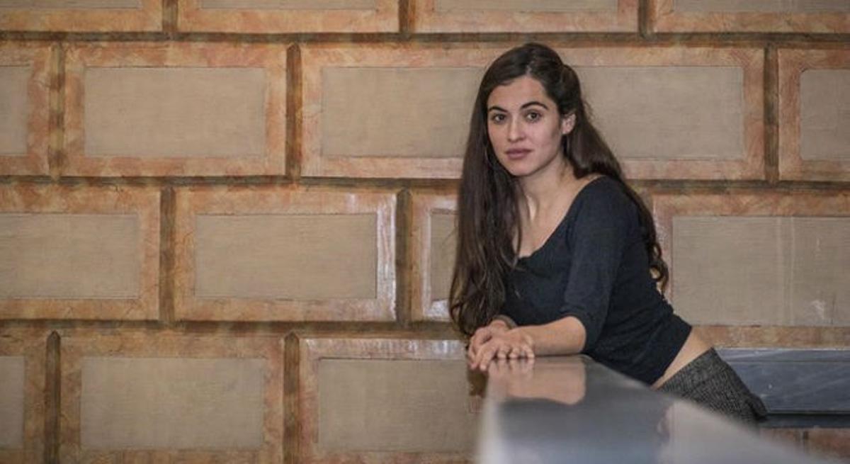 Sílvia Pérez Cruz, el pasado lunes en Barcelona.