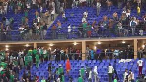 Los ultras del Raja de Casa Blanca arrancaron 2.000 asientos del estadio del Kawbab