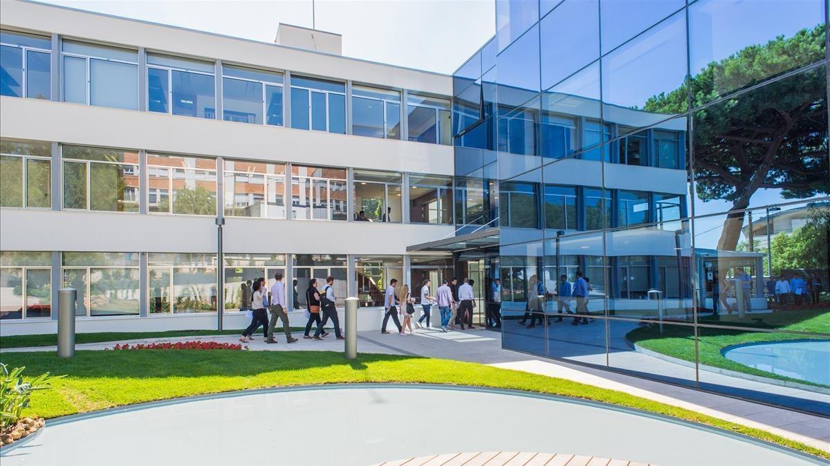 Campus barcelonés de IESE Business School.