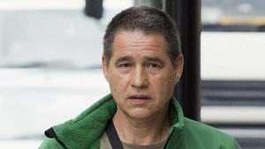 El histórico etarra Antonio Troitiño, a su llegada al Tribunal de Magistrados de Westminster, en Londres, para el comienzo del proceso de extradición a España, en junio del 2014.