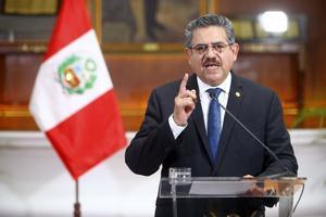 Manuel Merino duró 5 días en la presidencia de la República de Perú.