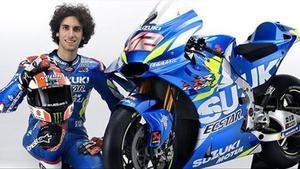 Àlex Rins, en una foto oficial del equipo Suzuki.