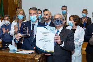 La Fundación Jiménez Díaz, primer hospital del mundo en recibir el EFQM Global Award, Premio a la Excelencia en Gestión de mayor prestigio internacional