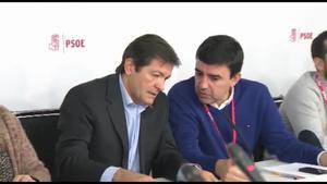Imágenes de la reunión del comité federal del PSOE