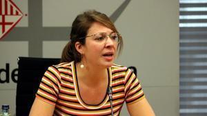 La teniente de alcalde Janet Sanz, en una foto de archivo.