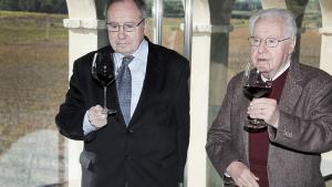 Josep Lluís Bonet y Josep Ferrer, en el 2013.