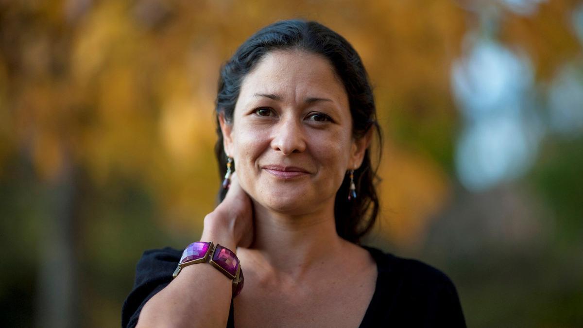 La escritora colombiana Pilar Quintana, ganadora del Alfaguara.