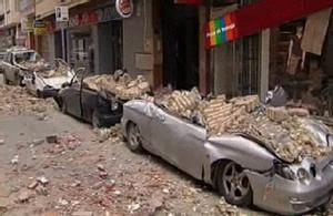 Imágenes del terremoto que ha sacudido Murcia.
