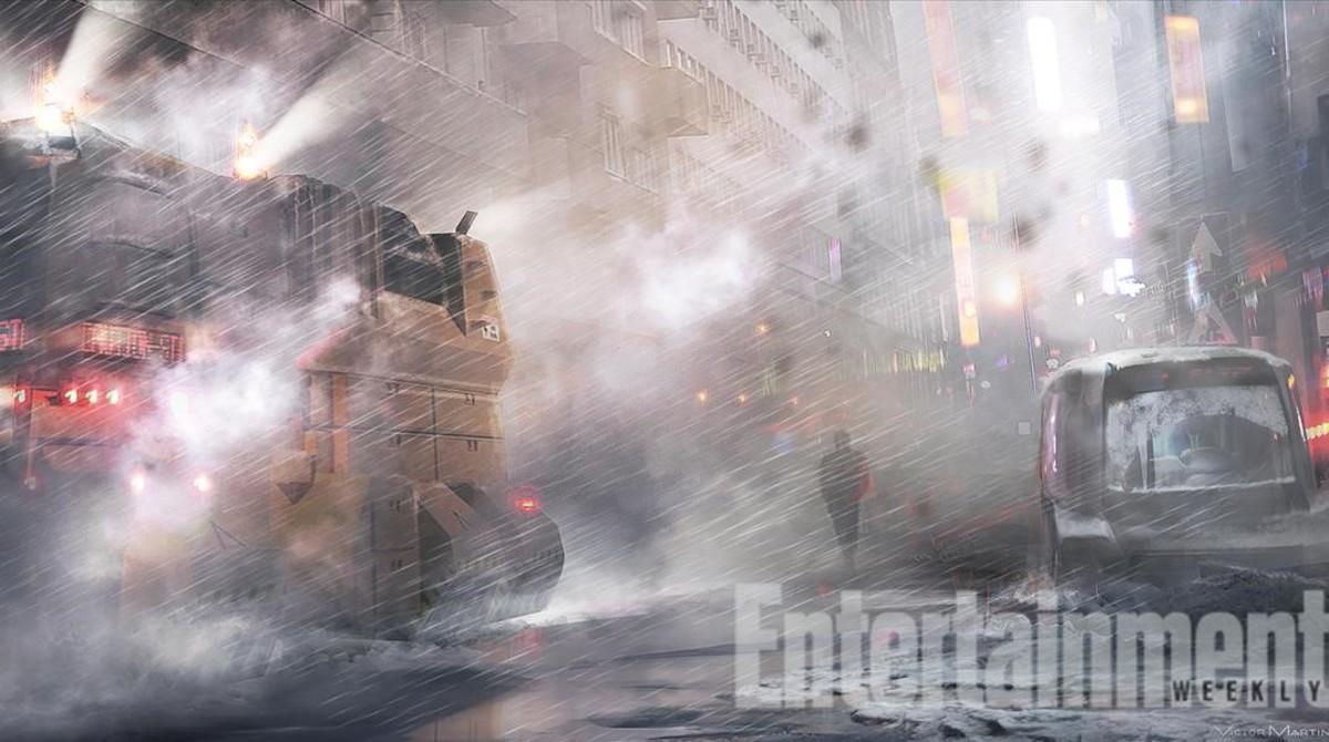 Imagen conceptual de 'Blade runner 2'.