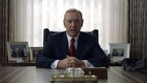 Kevin Spacey, en la serie de Netflix 'House of cards'.