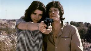 Berta Socuéllamos y José Antonio Valdelomar, en 'Deprisa, deprisa', de Carlos Saura.