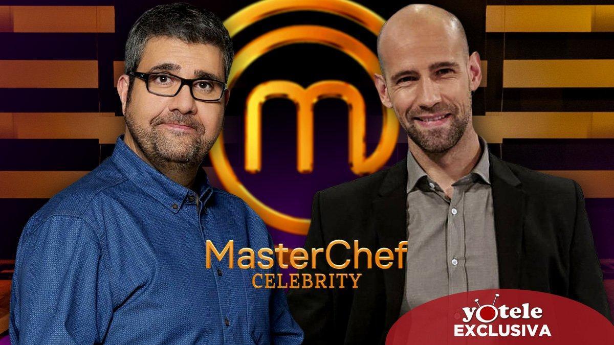 Florentino Fernández y Gonzalo Miró, nuevos aspirantes a concursar en la quinta edición de 'Masterchef Celebrity'