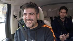David y Jose Muñoz, el dúo Estopa, en el especial de 'Al cotxe', de TV-3.