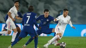 Hazard torna a Londres a la recerca de redempció amb el Madrid