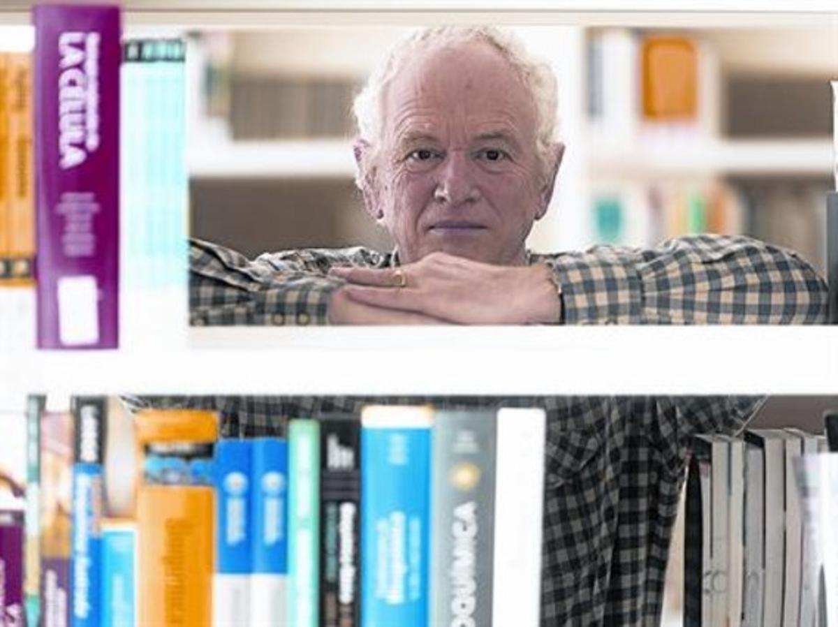 Phil Jones, en un receso de las jornadas científicas celebradas el miércoles pasado en Tortosa.