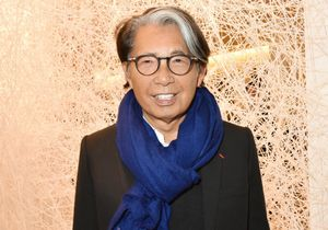 PARIS, FRANCE - JANUARY 15:  Fashion designer Kenzo Takada attends Where Are We Going : Chiharu Shiota Installation Preview At le Bon Marche Rive Gauche on January 15, 2017 in Paris, France. (Photo by Foc Kan/WireImage) FILE: Fashion Designer Kenzo Takada Dies Aged 81 From Covid-19.