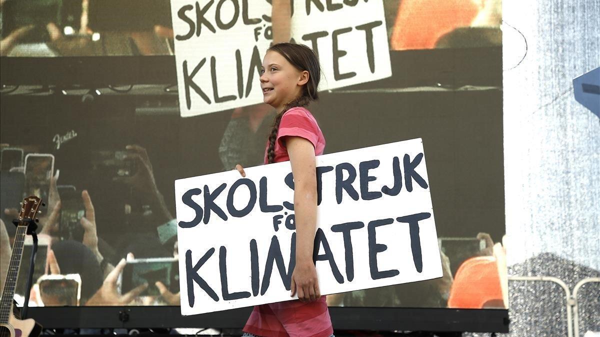 Greta Thunberg registra el seu nom i el de Fridays for future com a marca