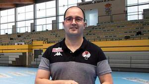 Dani Gordo, entrenador de balonmano