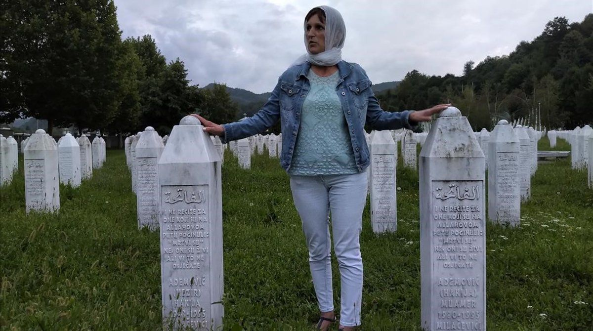 Imagen de Sifa Suljic en el documental 'L'última cinta des de Bòsnia'