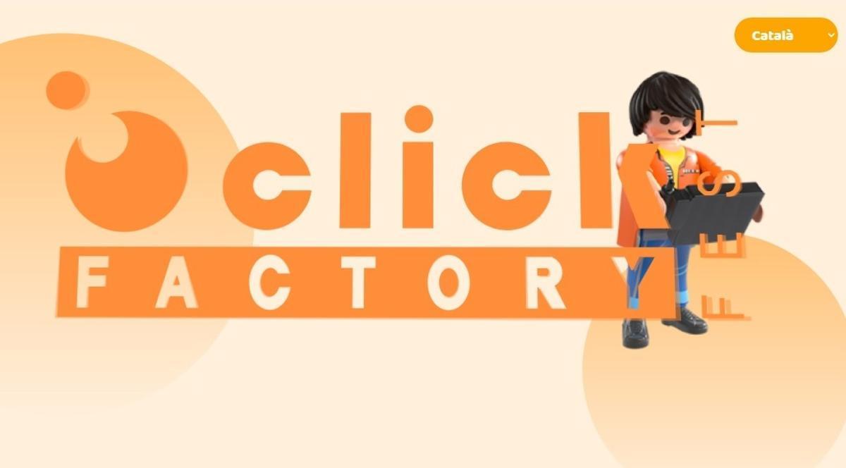 Portal de entrada a esta web de Playmobil.